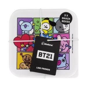 BT21 Snackboxen - 3er Set