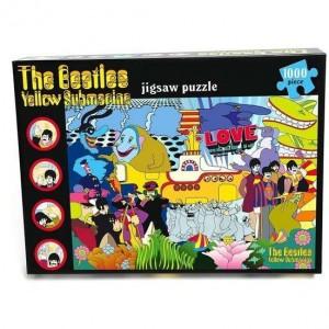 Beatles - Yellow Submarine - 1000 Piece Jigsaw Puzzle