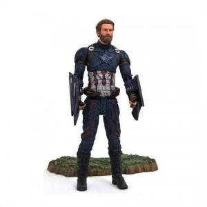 Avengers Infinity War Marvel Select Actionfigur Captain America 18 cm