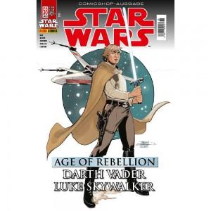 Star Wars 58: Age of Rebellion - Darth Vader & Luke Skywalker - Comicshop Ausgabe