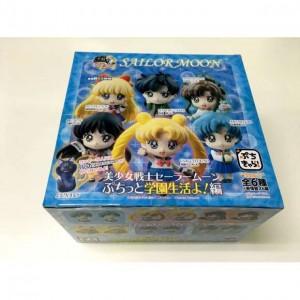 Sailor Moon Schuluniform Mini Figuren Display