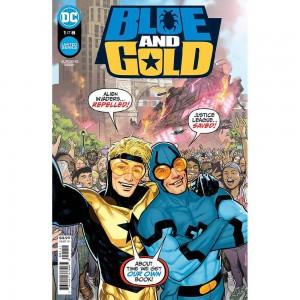DF BLUE and GOLD #1 JURGENS ELITE GOLD SGN (C: 0-1-2)
