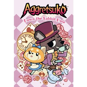 AGGRETSUKO DOWN THE RABBIT HOLE HC