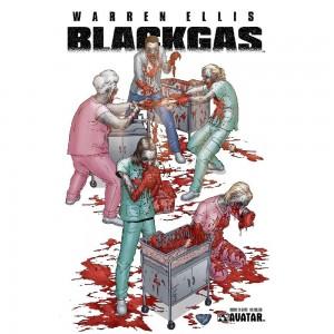 BLACK GAS GORE COVERS SET (6CT) (MR) (C: 0-1-2)