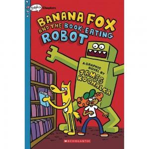 BANANA FOX HC GN VOL 02 BOOK EATING ROBOT (C: 1-1-0)