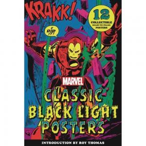 MARVEL CLASSIC BLACK LIGHT COLLECTIBLE POSTER PORTFOLIO (C: