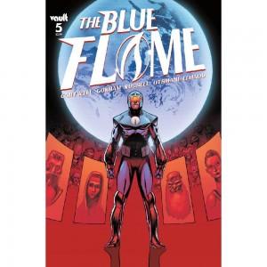 BLUE FLAME #5 CVR A GORHAM