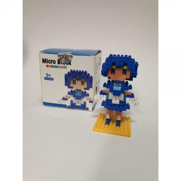 Sailor Merkur - Micro Block Figur