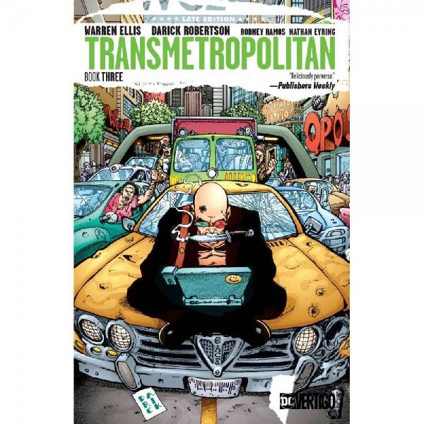 Transmetropolitan TP Book 03 (Englisch)